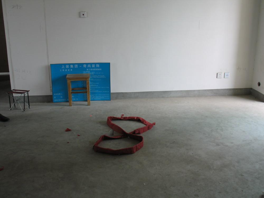 yy cc的小窝 锦绣华城公园纪 108平两房两厅 奇尚设计施高清图片