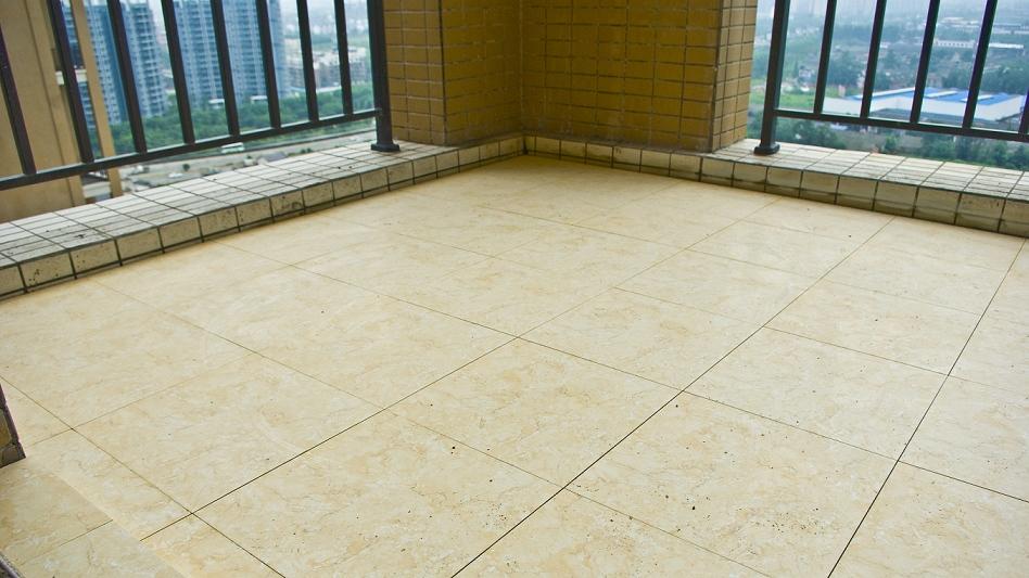 装修效果图阳台墙面瓷砖效果图阳台地面瓷砖效果图