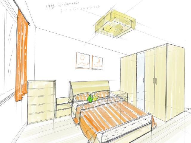 家具 室内 手绘图/环艺室内家具手绘图