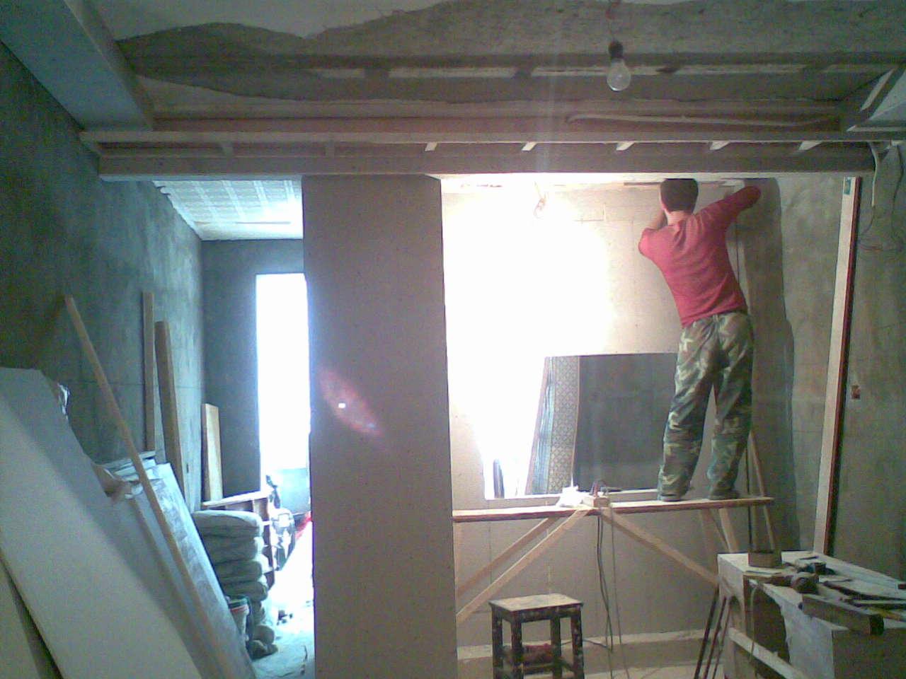 小半包 1室1厅 42.25变身2房2厅卫生间干湿分离齐家论坛 装高清图片