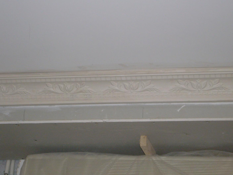 请问卧室局部吊顶的地方还要放顶角线么 已上图高清图片