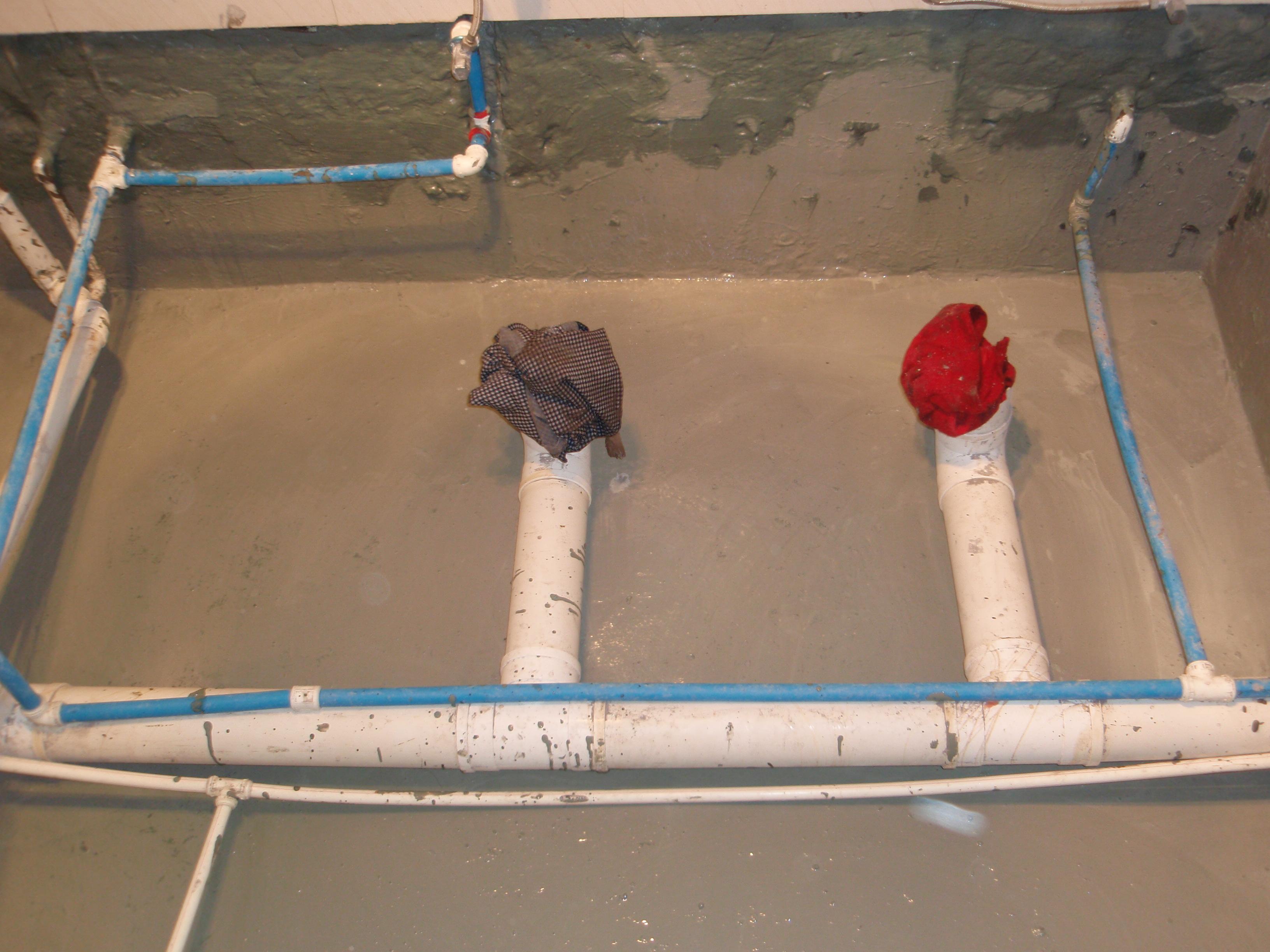 德高防水卫生间施工流程图图片