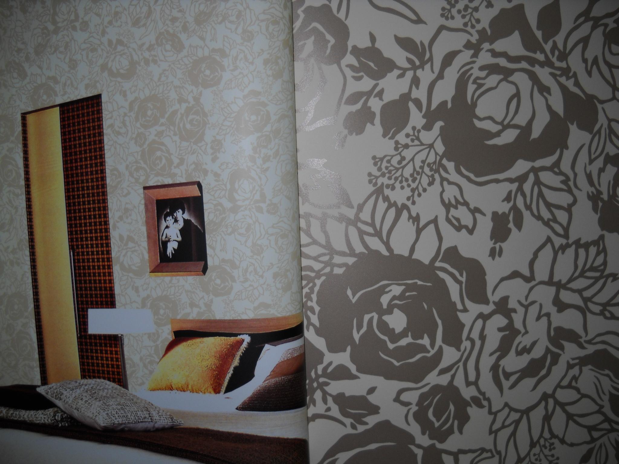 洛可可墙纸效果图展示图片