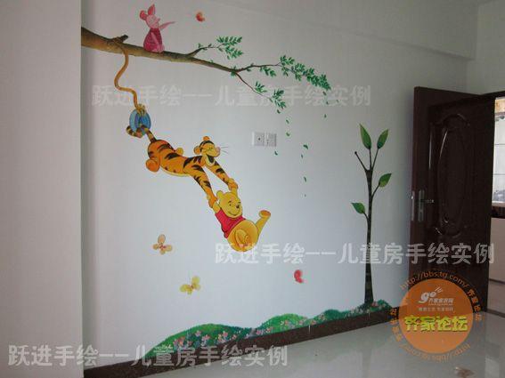 居家装饰--分享手绘墙画